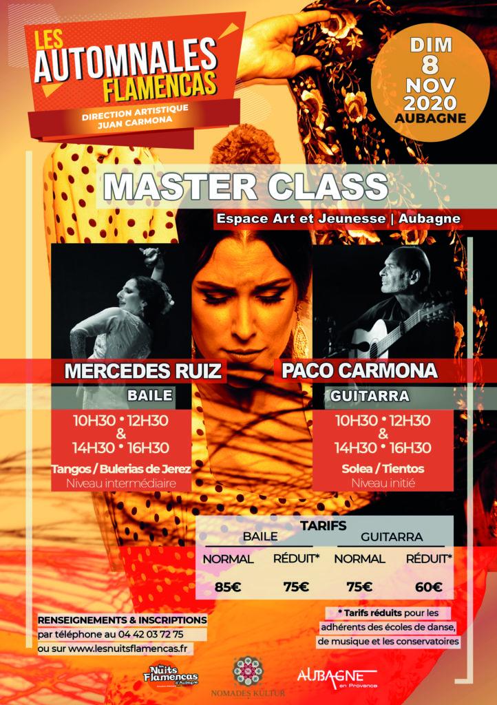 Affiche Master Class