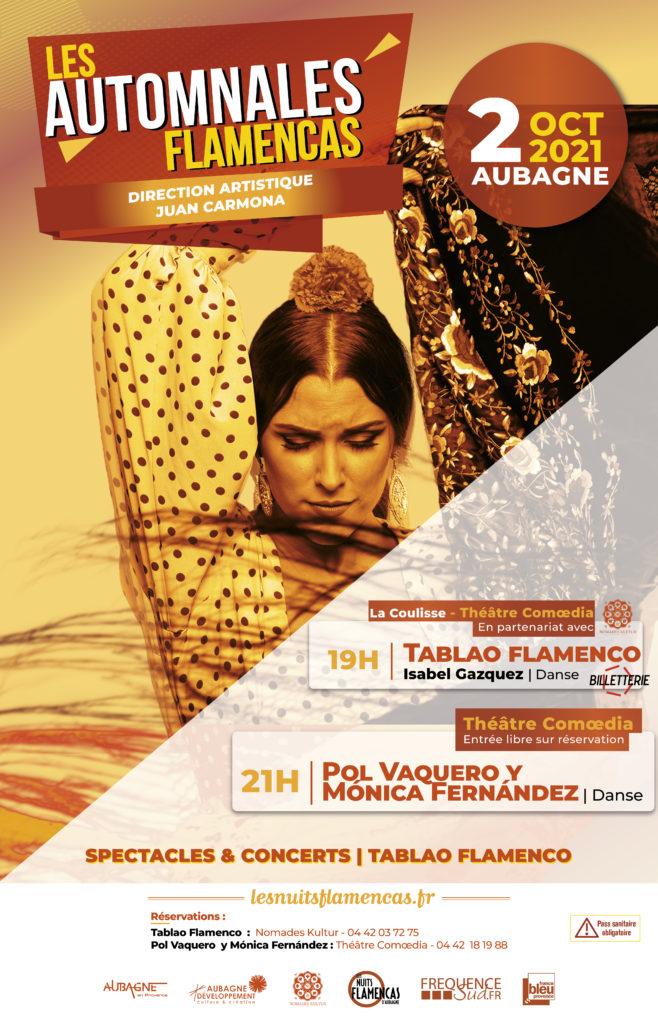 Affiche les Automnales Flamencas